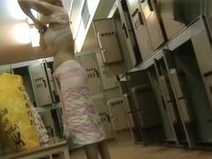 Hidden Camera Video. Dressing Room N 682