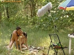 Michelle Wild outdoor sex