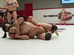 December tag Team Erotic Wrestling Match up
