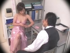 Nice busty Jap creampied well in spy cam Japanese sex movie