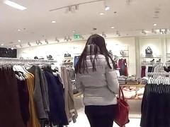 MallCuties nice brunette girl is fucking for jacket