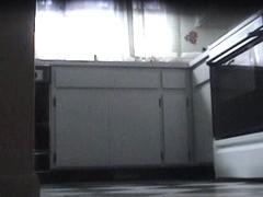 Kitchen voyeur xxx