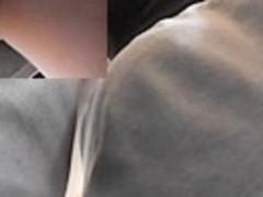 White panty up gray mini petticoat