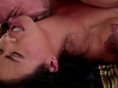 Exotic pornstars Erik Everhard, Dana Vespoli in Amazing Cumshots, MILF porn movie