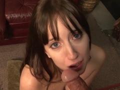 Fabulous pornstar Jennifer Sloan in amazing blowjob, brazilian xxx clip