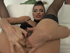 Best fisting, fetish porn scene with crazy pornstar Savannah Secret from Everythingbutt