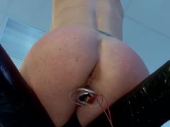 Audrey Hollander- anal queen and Electroslut extraordinair in her final explosive challenge
