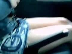 dissolute slag squirts in my car