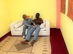 Black Dude Fucking White Twink