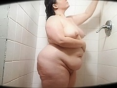 Big Butt BBW Shower - 99
