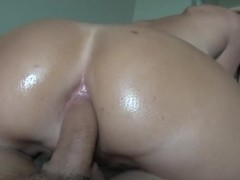 Buxom blonde Addison O'reilly takes my dick in her hospitable, beautiful asshole