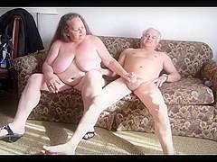 # BBW Mature Vixen Fucks Cowboy