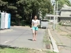 Exotic flashing clip with public scenes 2