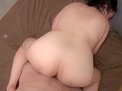 Japanese Ugly BBW Mature Creampie