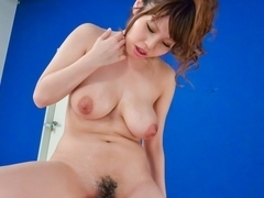 Fabulous Japanese model Rion Nishikawa in Incredible JAV uncensored Cumshots video