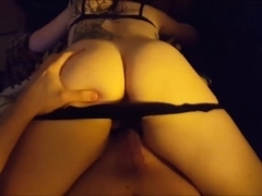 Great point of view - while wife gives her ass to hubby