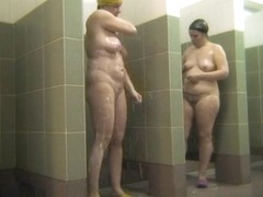 Hot Russian Shower Room Voyeur Video  1