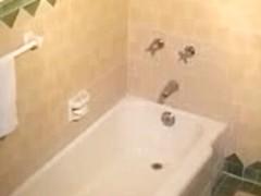 Your voyeur porn with amateur masturbating in bath