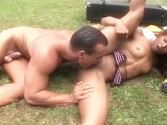 Incredible pornstar Marie Luv in Crazy Small Tits, Outdoor adult movie