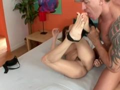 Exotic pornstar Nikki Daniels in best big tits, foot fetish porn video