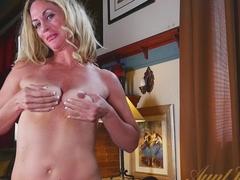 Fabulous pornstar in Amazing Masturbation, Blonde adult scene