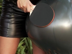 Exotic pornstars Sensual Jane and Jelena Jensen in amazing outdoor, dildos/toys adult scene