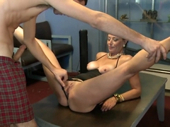 Horny pornstar in Exotic Facial, Shaved adult clip