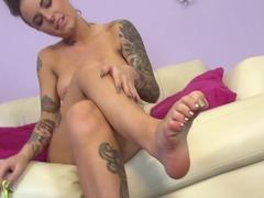 Best pornstar Christy Mack in Exotic Brunette, Tattoos porn video
