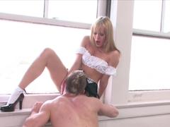 Crazy pornstar Blue Angel in Horny Big Cocks, Blonde adult video