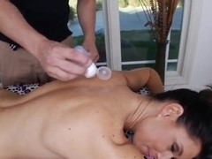 Older India Summer in need of massage from shaver