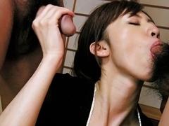 Horny Japanese girl Kanon Hanai in Best JAV uncensored Cumshots scene