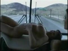 Gia P - Bus Threesome Group Sex