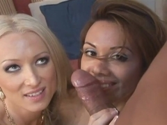 Unforgettable threesome with two gorgeous milfs