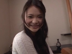 Nice Asian teen Kana Tsuruta gets doggy style fucking