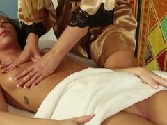 Crazy pornstars Tasha Reign, Maddy Oreilly in Incredible Lesbian, HD porn clip