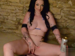 Horny pornstar Harmony Reigns in Exotic Cosplay, Masturbation adult video
