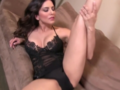 Fabulous pornstar Sunny Leone in Crazy Masturbation, Big Tits porn movie