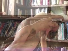 Crazy pornstar Riley Reid in horny tattoos, college porn movie