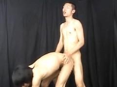 Best Asian homosexual dudes in Horny masturbation, twinks JAV scene