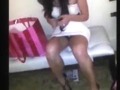 Slutty Asian girl Super Hot Upskirt