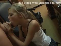 Incredible pornstar Nicole Ray in exotic blowjob, blonde porn movie
