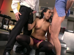 Best pornstar in Crazy Threesomes, Blowjob xxx scene