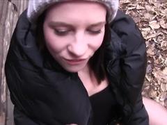 Fabulous pornstar Leony Aprill in Exotic POV, Outdoor sex clip