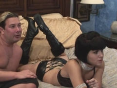 Exotic pornstar Jenna Moretti in amazing tattoos, anal adult scene
