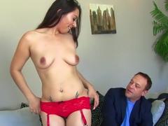 Fabulous pornstar Stephanie Adams in horny facial, cumshots xxx video