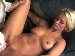 Exotic pornstar Emily Austin in Crazy Hardcore, Blonde porn clip