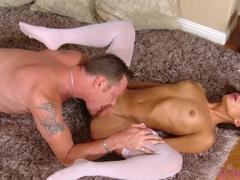Horny pornstar Chichi Medina in Exotic Blowjob, College adult video