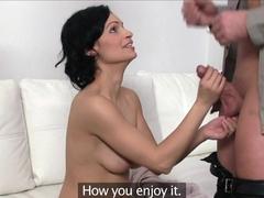 Crazy pornstar in Incredible College, Brunette porn movie