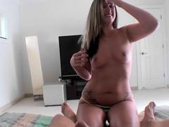 Crazy pornstar Roxie Rogerz in Horny POV, Blowjob adult movie