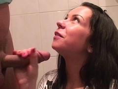 Emmy in hot amateur couple of hot chicks fucking a dude